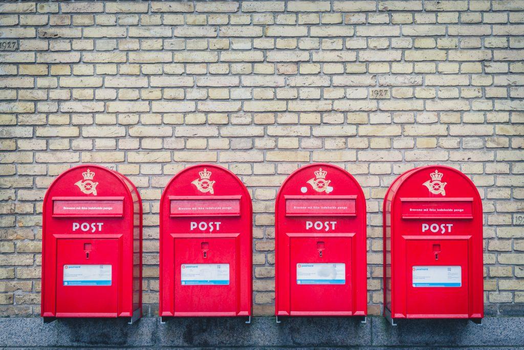 Aahus, Briefkästen, Foto: Kerstin Bittner