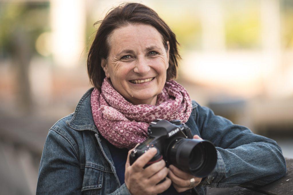 Porträtfoto von Kerstin Bittner. Foto: Britta Loose-Buhr