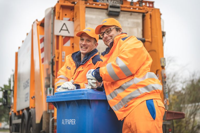 Arbeitsreportage Müllwerker. Foto: Kerstin Bittner